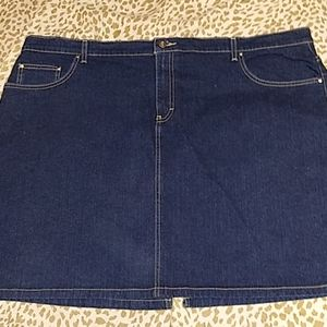 Nwt tommy hilfiger denim skirt